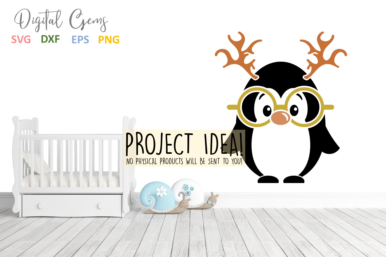 Penguin Reindeer, Christmas designs example image 4