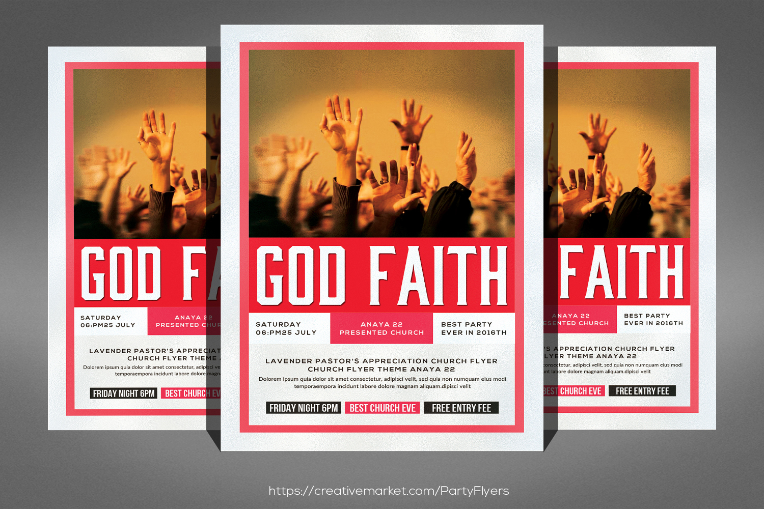 faith marketing flyer example image 1