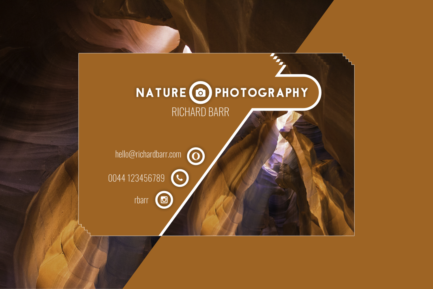 Nature Photography Business Card Set example image 5