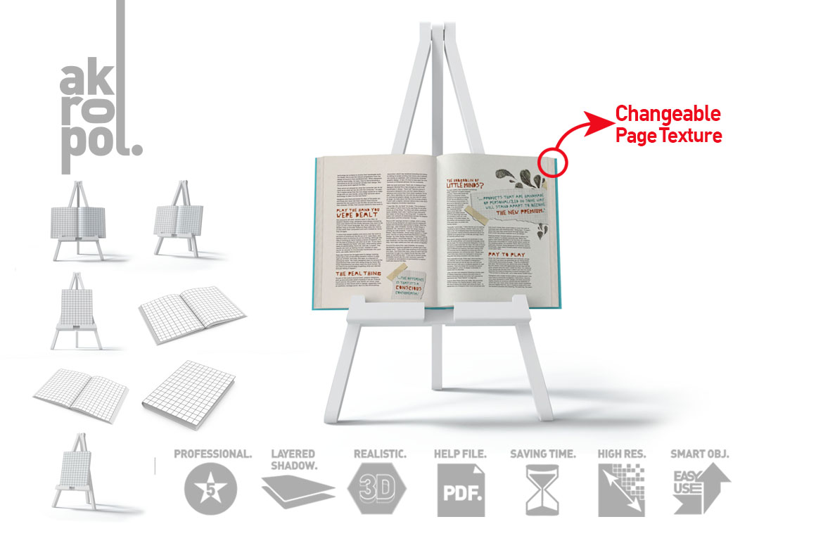 Book Mock-Up Set example image 8