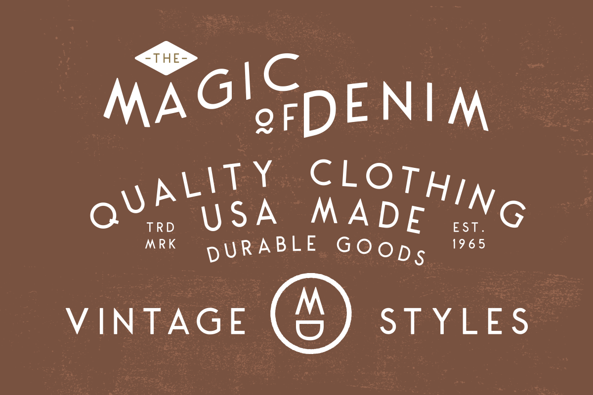 Montharo Typeface + Vector example image 8