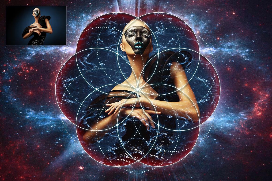 Sacred Geometry Generator example image 3