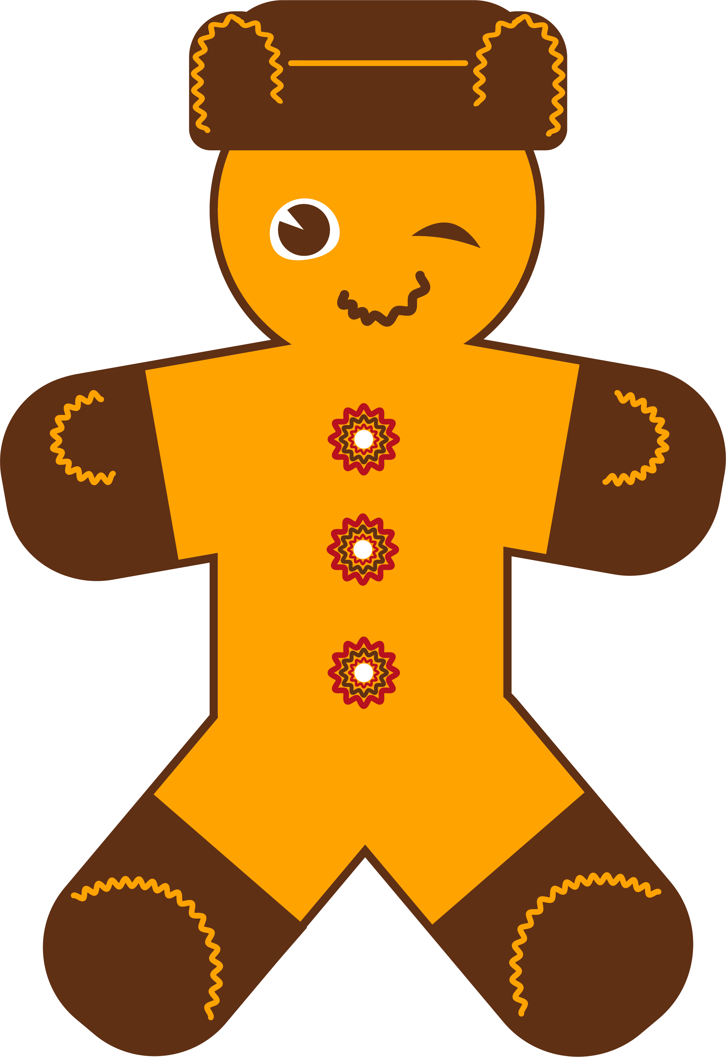 New Year Gingerbread Man example image 2