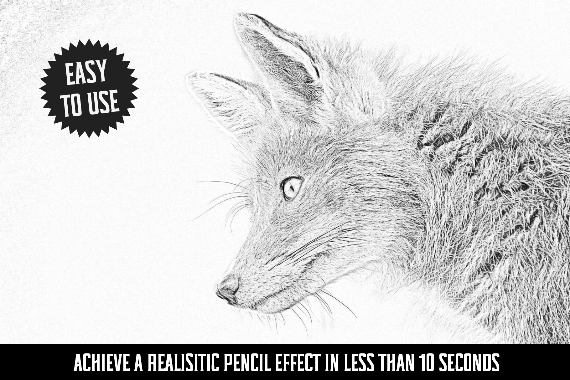 Easy Pencil Effect for Photoshop example image 3