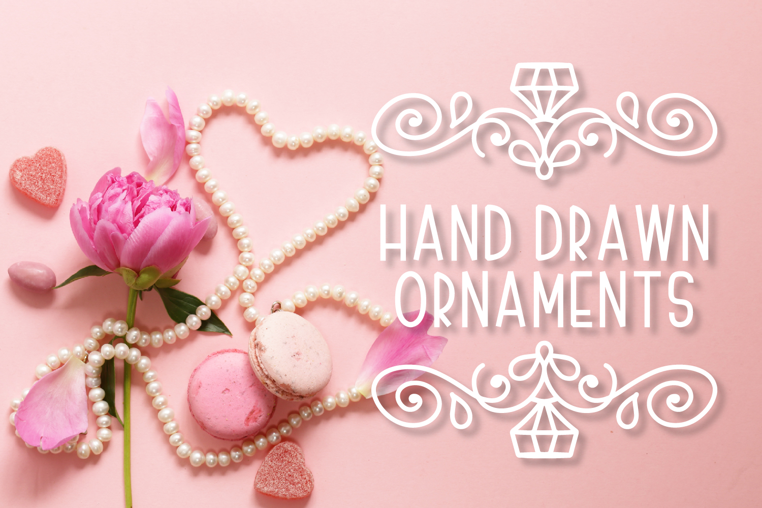 Ornament Font - The Perfect Accessory to Your Designs!  example image 1