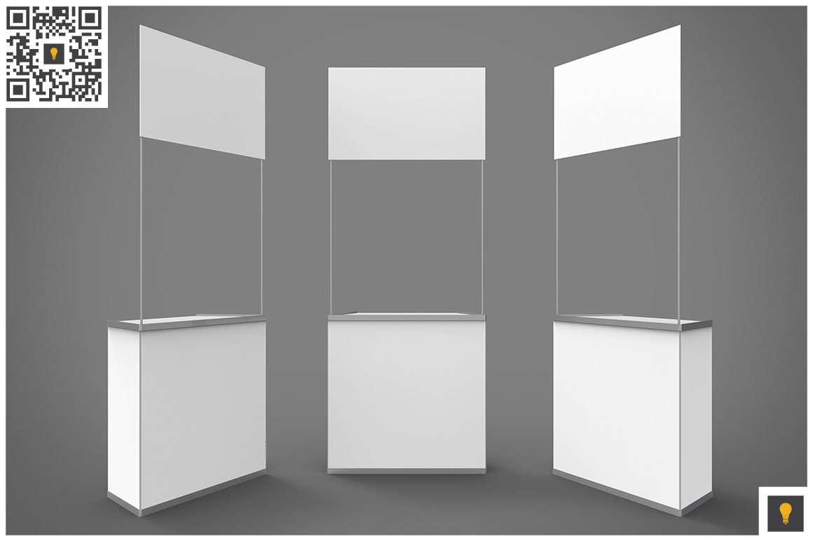 Promo Counter 3D Render example image 2