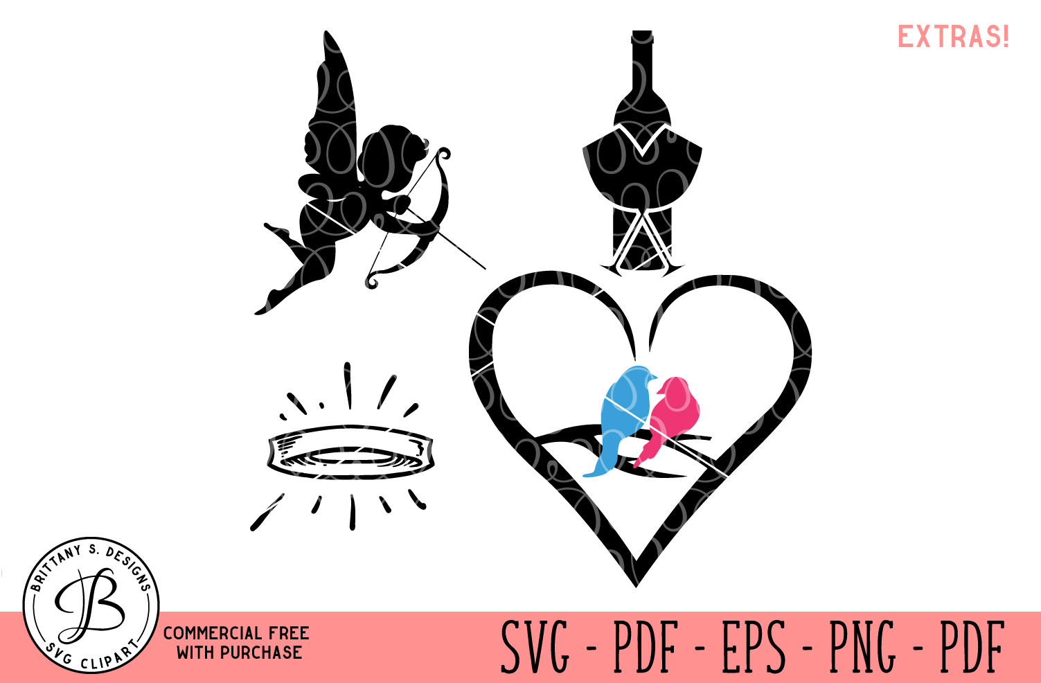 Wedding SVG Bundle example image 2