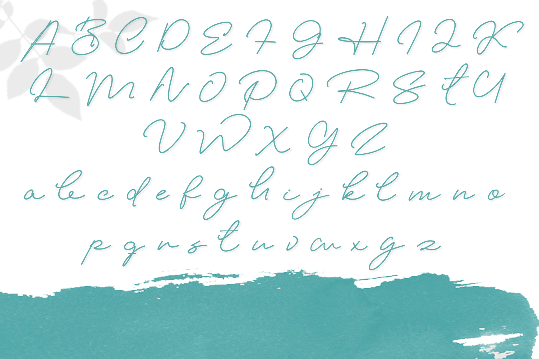 Elizany Handwritten Font example image 3