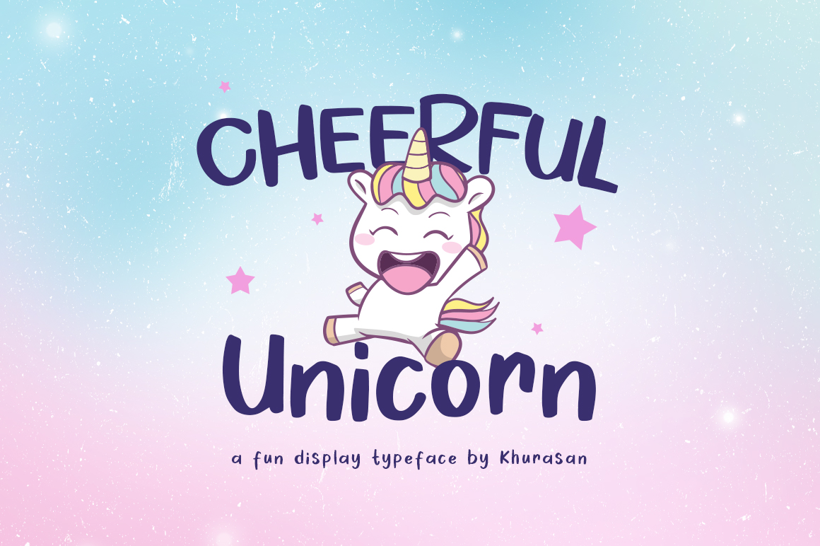 Cheerful Unicorn example image 1