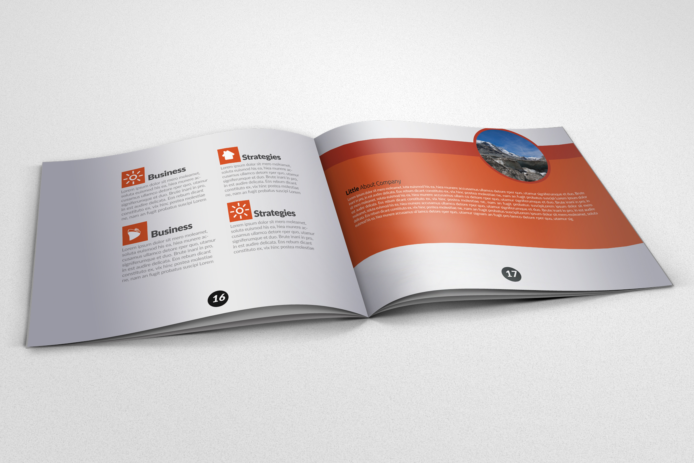 Business Motivation Bifold Brochure example image 2