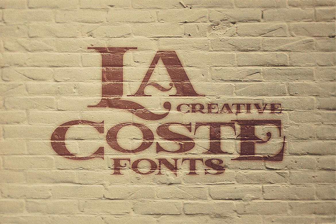 LaCoste Typeface example image 5
