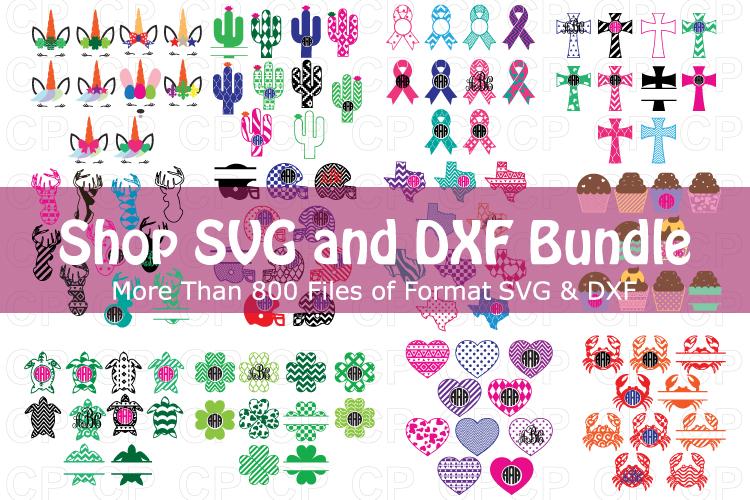 Shop Bundle, Bundle SVG, Monongram Bundle, Bundle Clipart example image 1