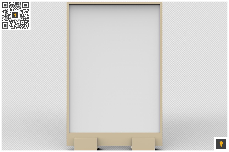 Flyer Display 3D Render example image 9
