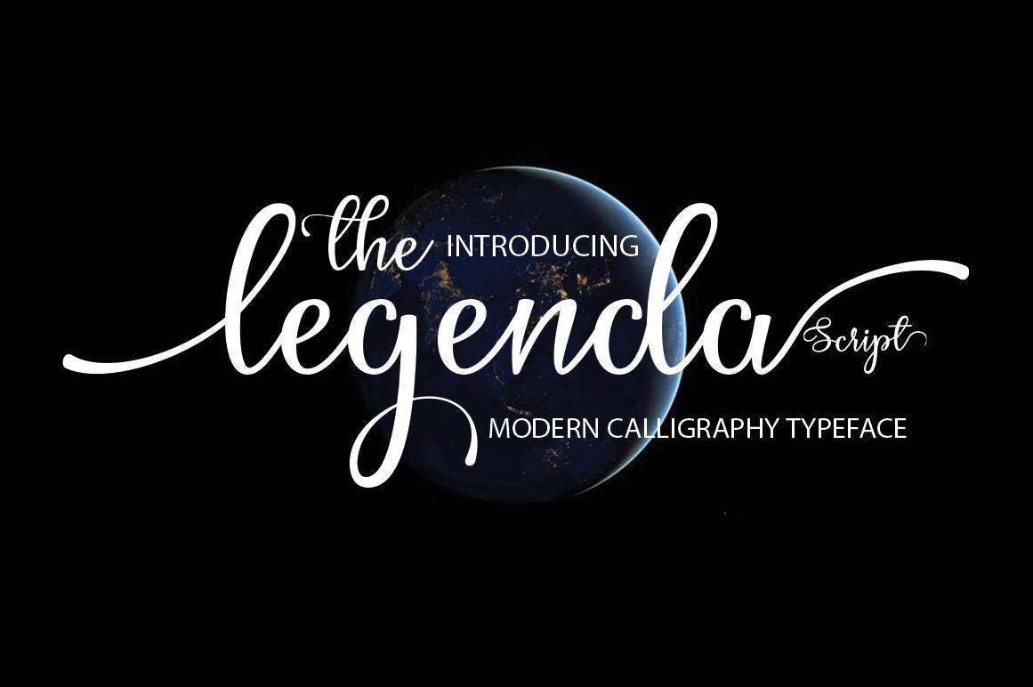 The Legenda Script example image 1