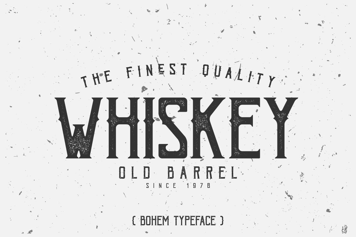 Bohem Typeface - 5 Font Styles example image 5