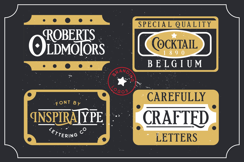 Etherion - Vintage Display font example image 4