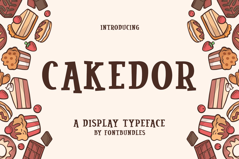 Cakedor example image 1