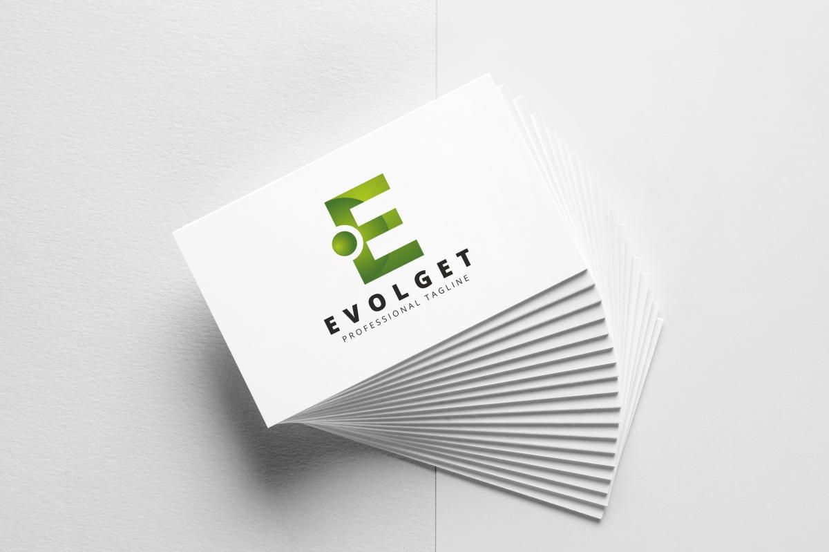 Evolget E Letter Logo example image 3