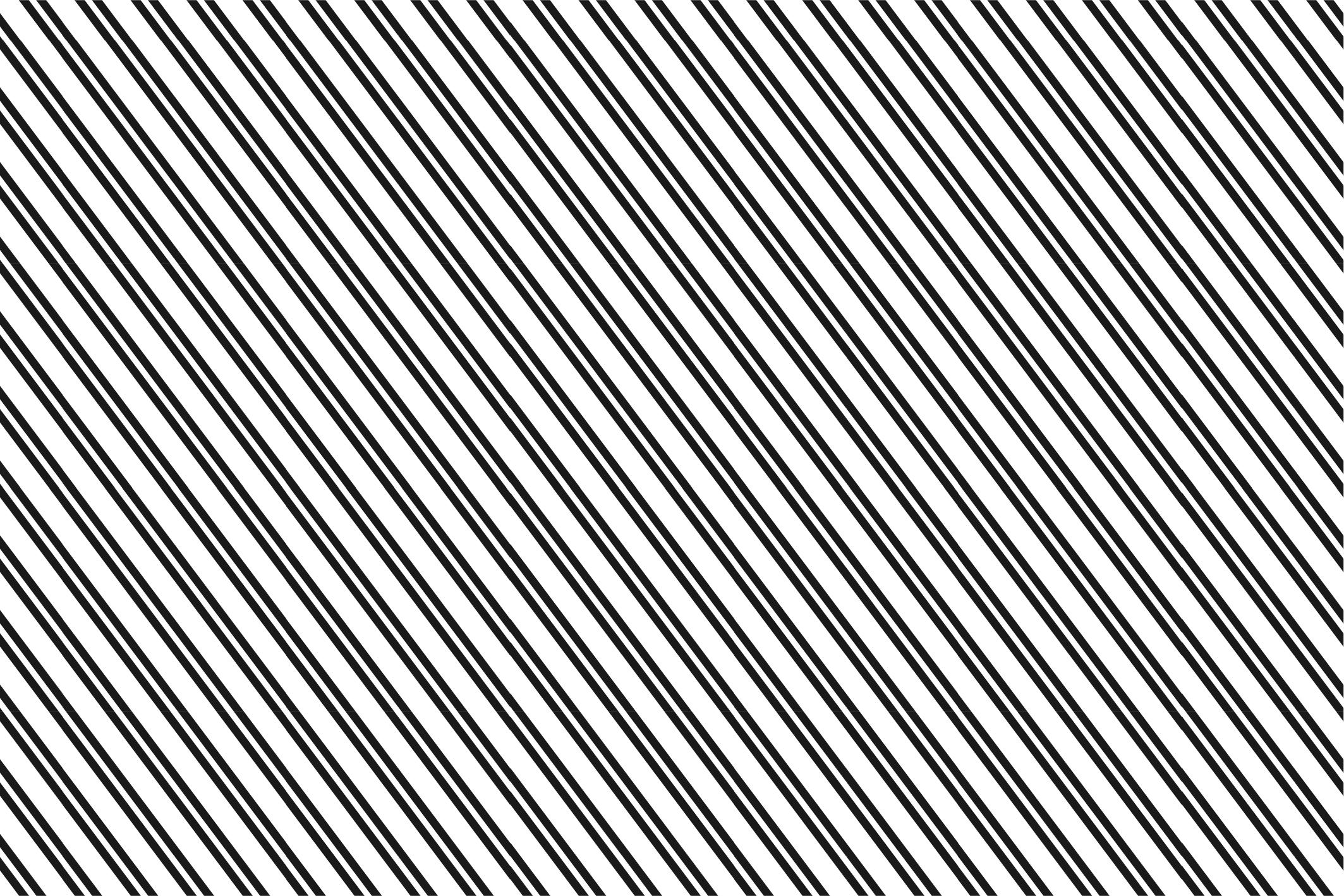 Striped seamless patterns set. example image 4