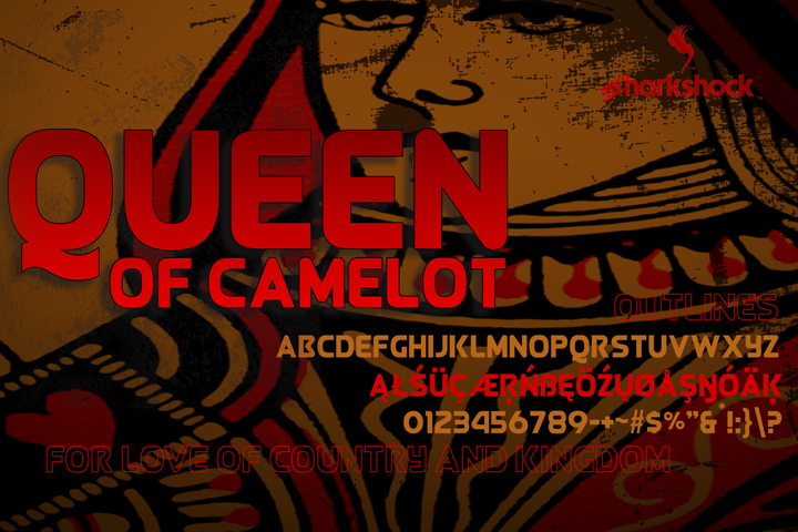 Queen of Camelot example image 1