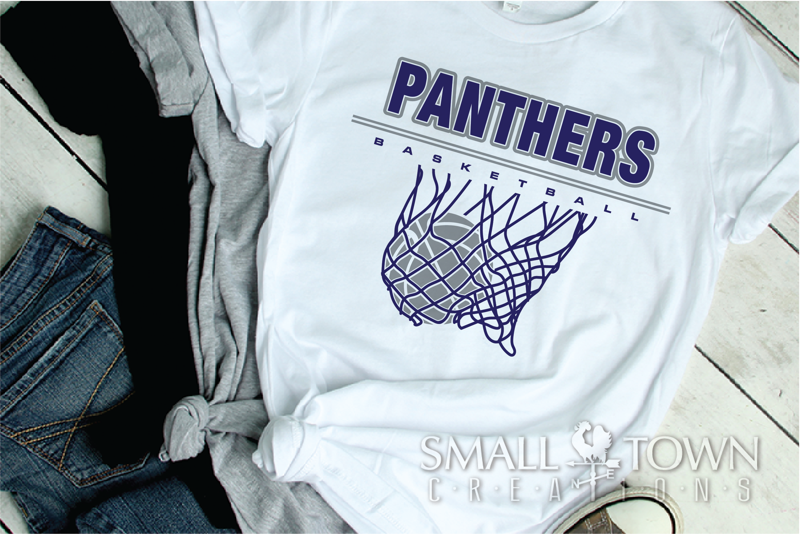 Panther, Basketball, Team, Sport, Design, PRINT, CUT, DESIGN example image 2