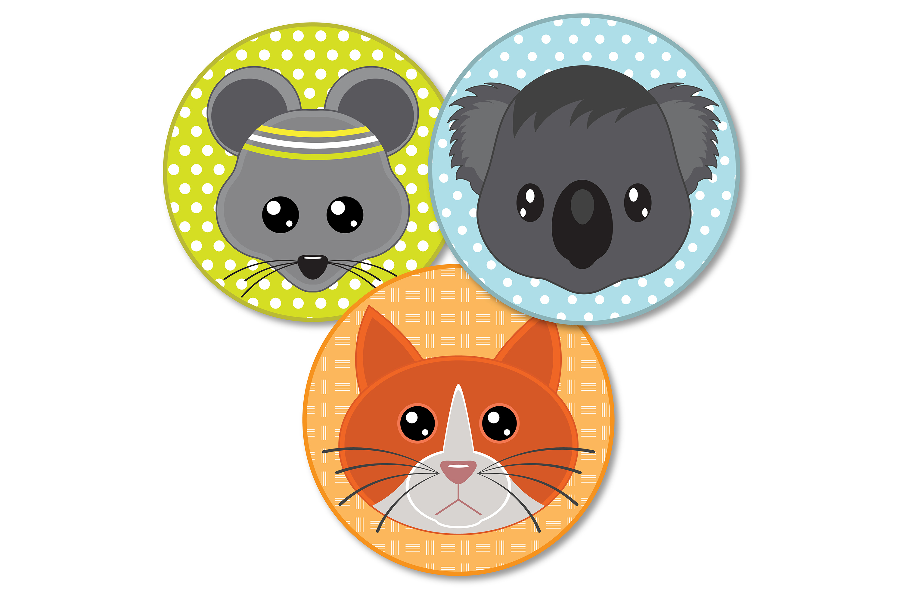 Cute Animal clip art | svg files example image 3