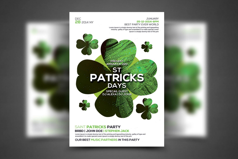 St. Patricks Flyer example image 1