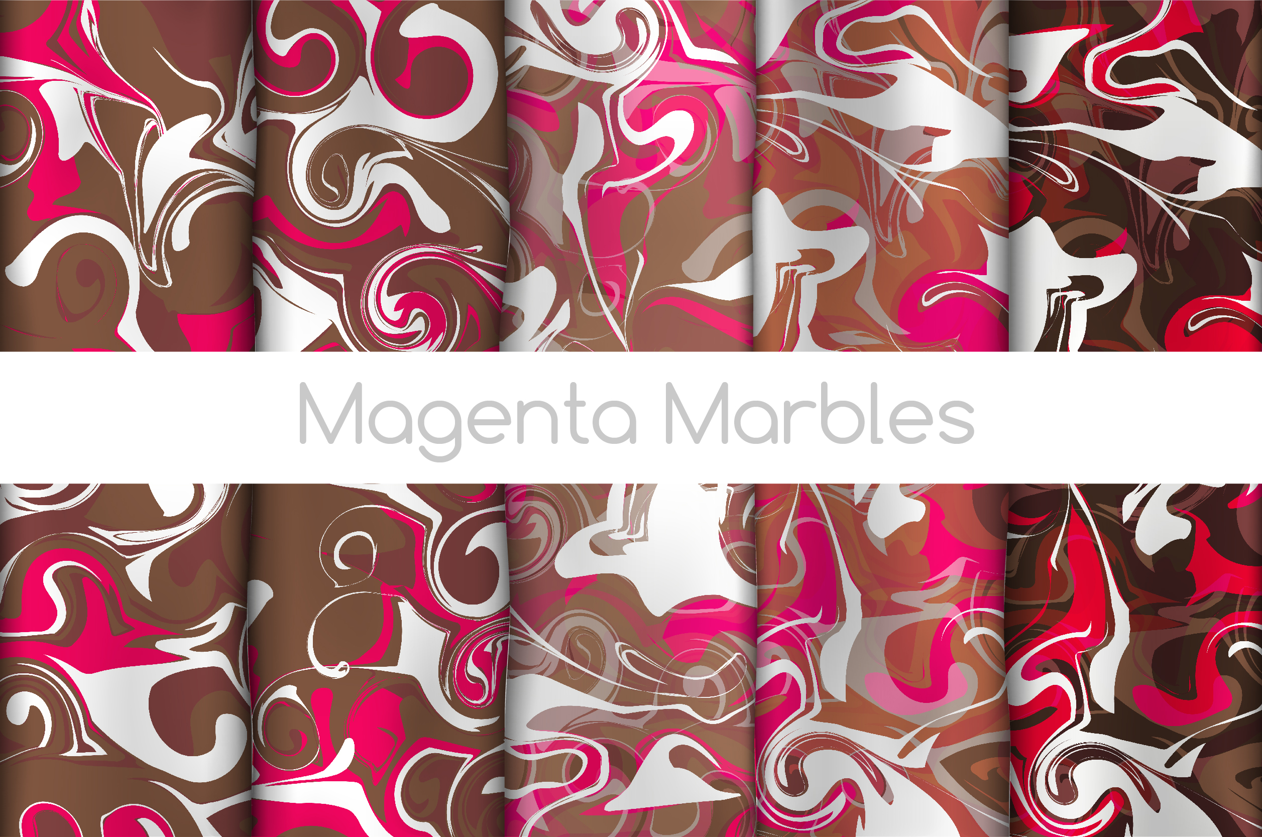 The BIGGEST Marbled Paper Collection example image 5