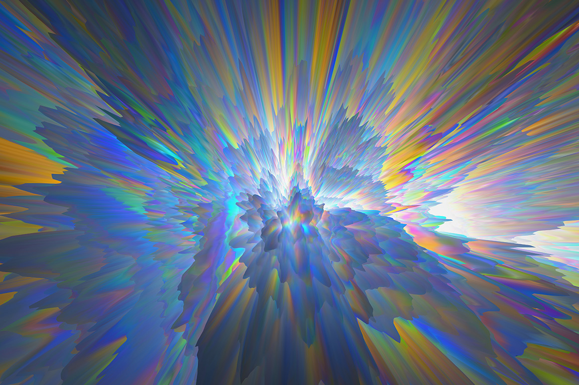 3D Glitch Backgrounds example image 6