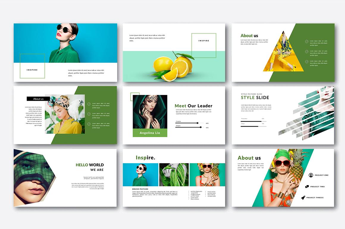 Inspire Creative Presentation example image 3