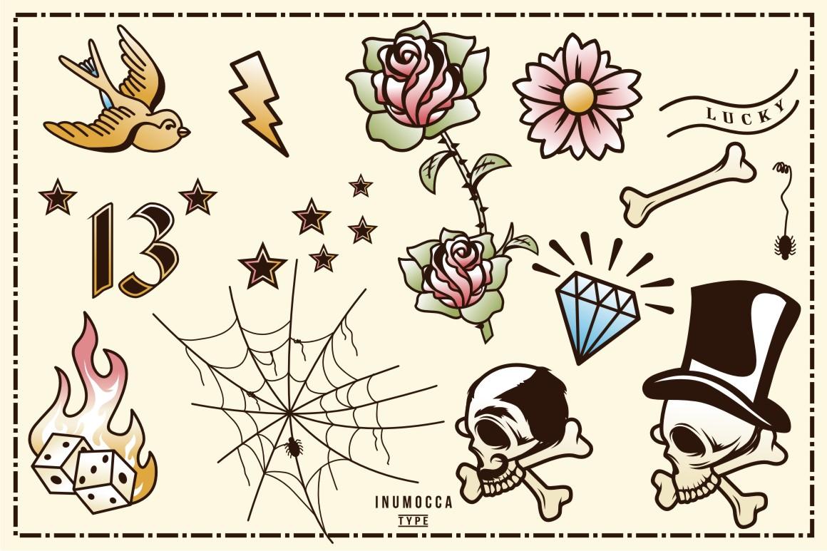 40 Tattoo Flash (full colors) example image 2