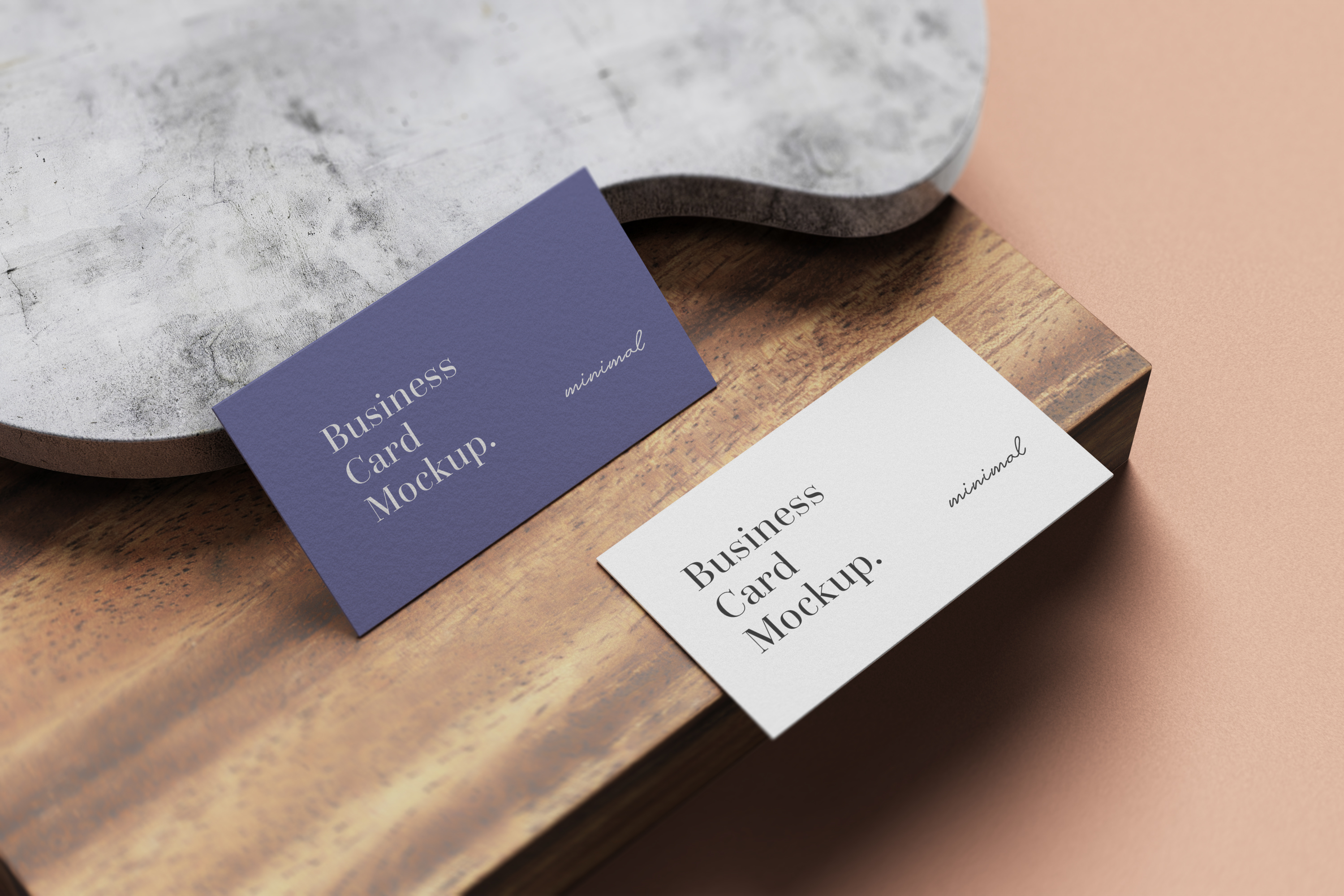Modern Business Card Mockup example image 9