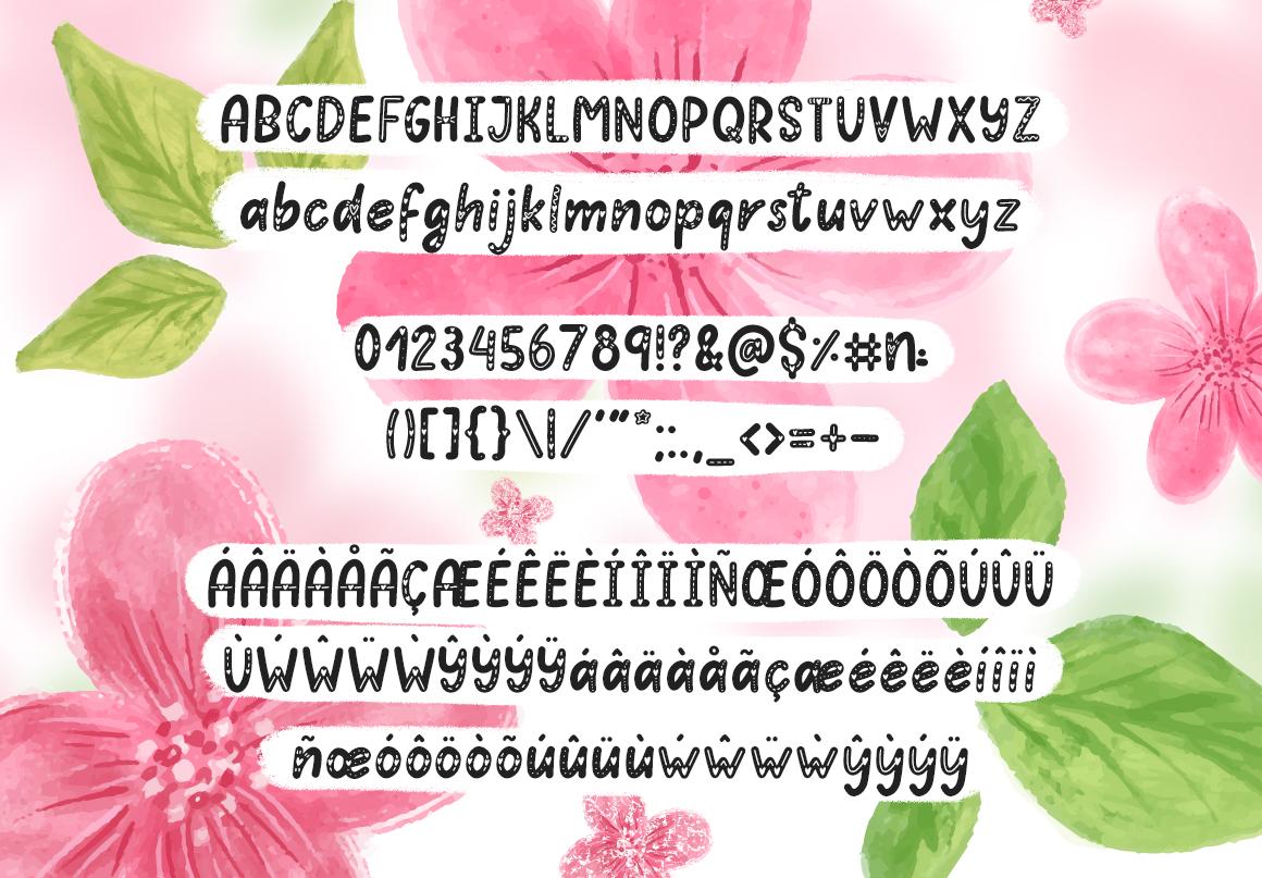 Hello Love - Valentine's Day Font example image 4