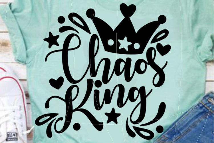 Chaos King SVG PDF EPS example image 3