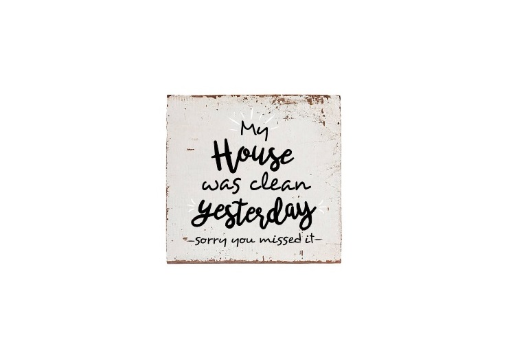 My House Was Clean Yesterday Svg, Home Svg, Home Saying Svg example image 2