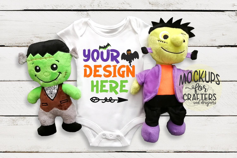 Baby Bodysuit - Halloween Theme Mock-Up example image 1