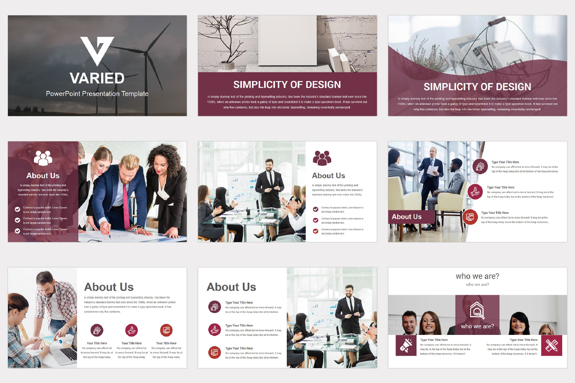Varied multipurpose PowerPoint Presentation Template example image 4