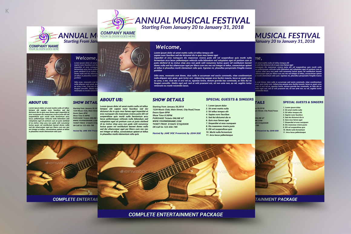 Music Festival Flyer example image 3