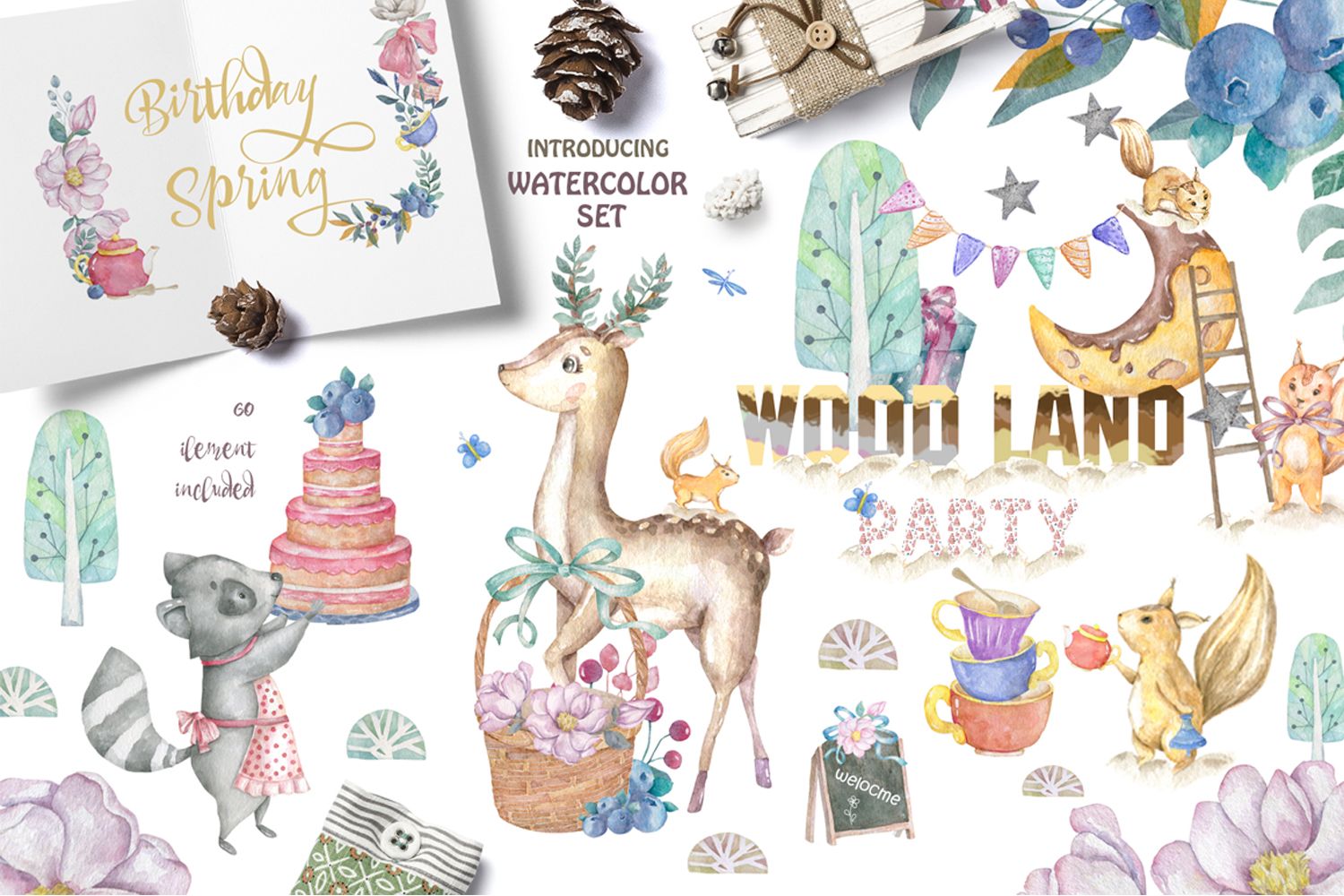 Woodland Party example image 1
