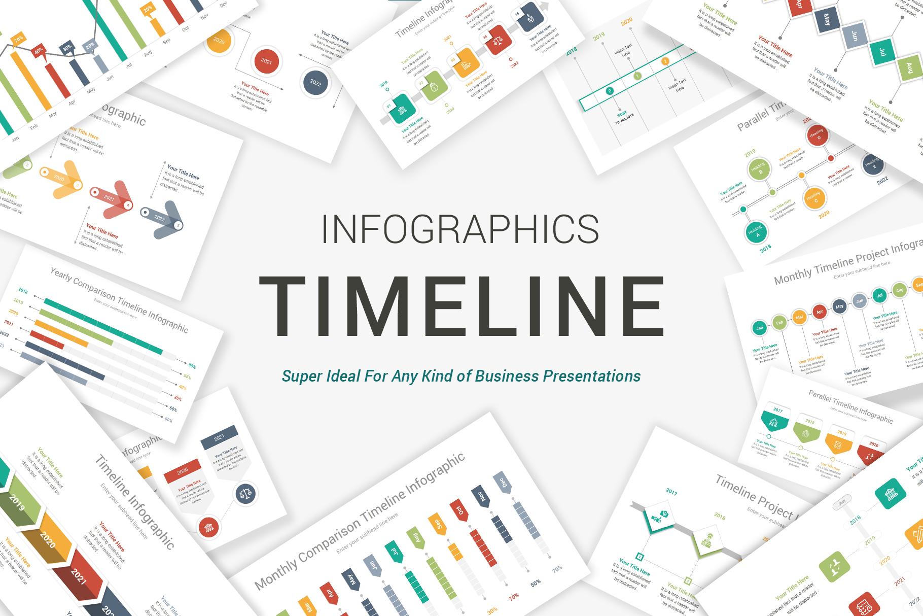 Keynote Timeline Template example image 1