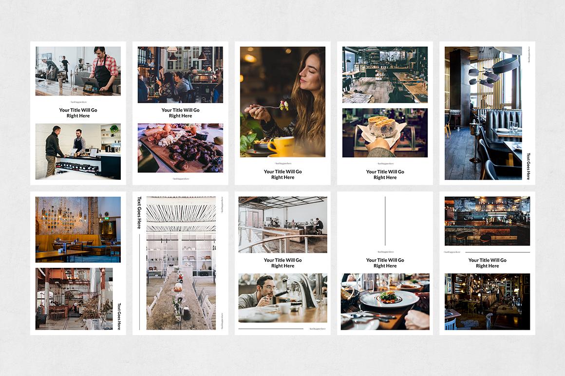 Restaurant Pinterest Posts example image 7