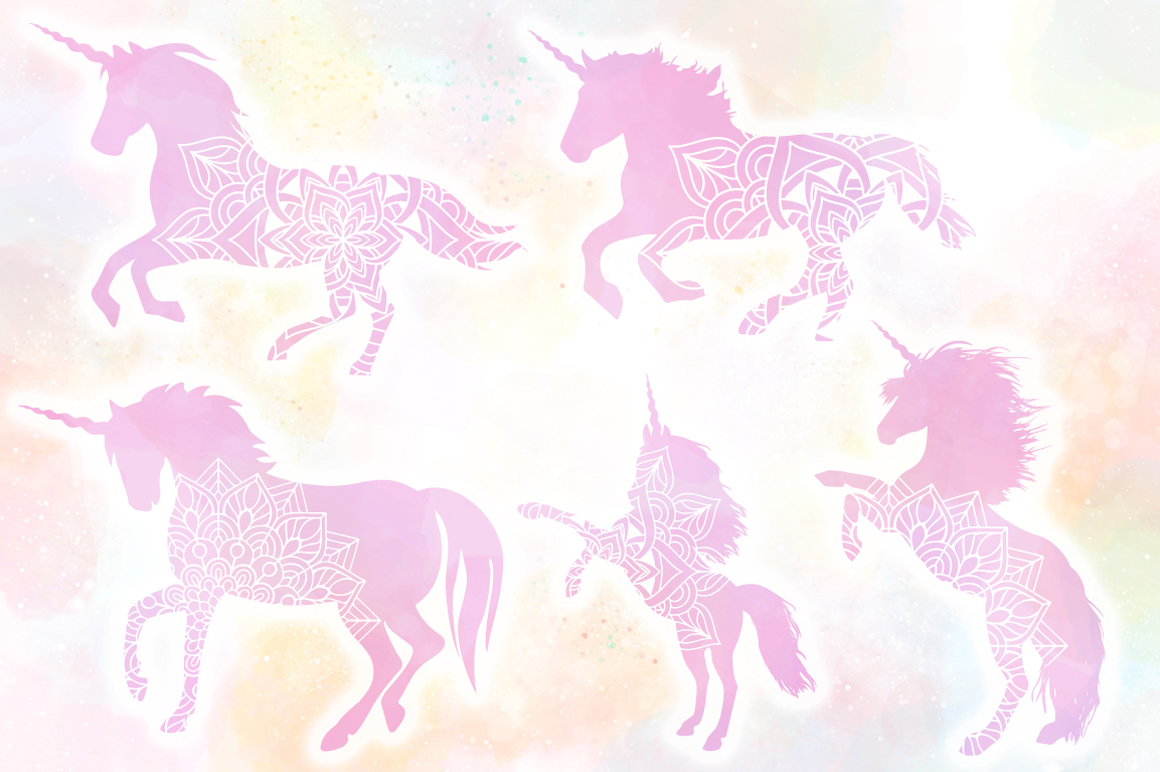 Unicorn SVG Bundle - The Complete Craft Collection example image 8