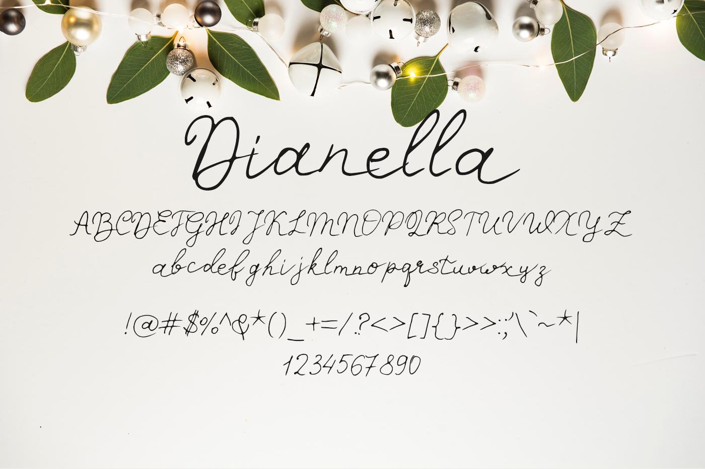 Dianella Font example image 2