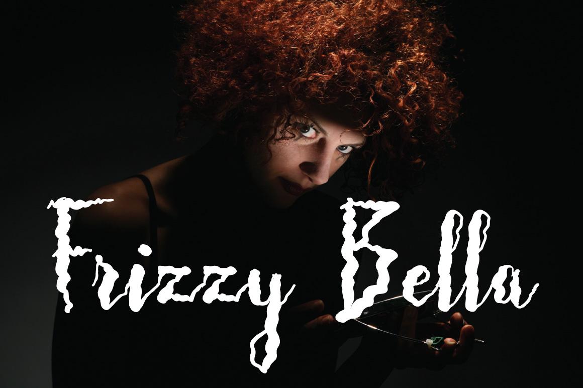 Frizzy Bella Script example image 1