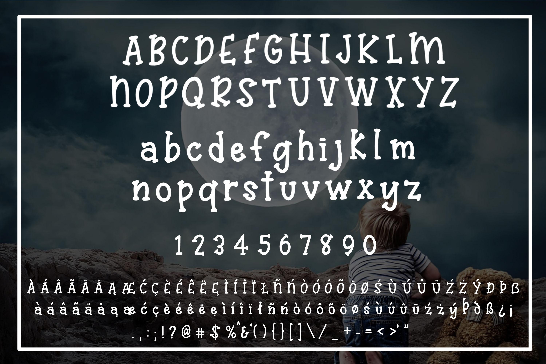 Maximilian - A whimsical serif font example image 2