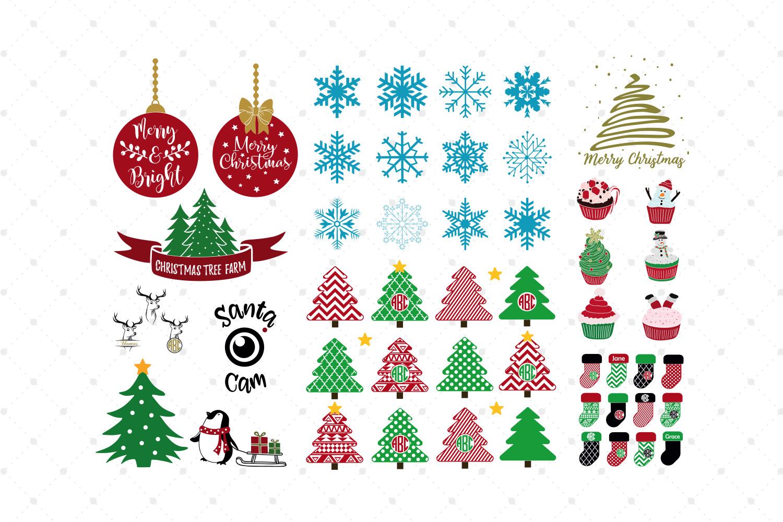 Christmas Bundle SVG Cut Files example image 2