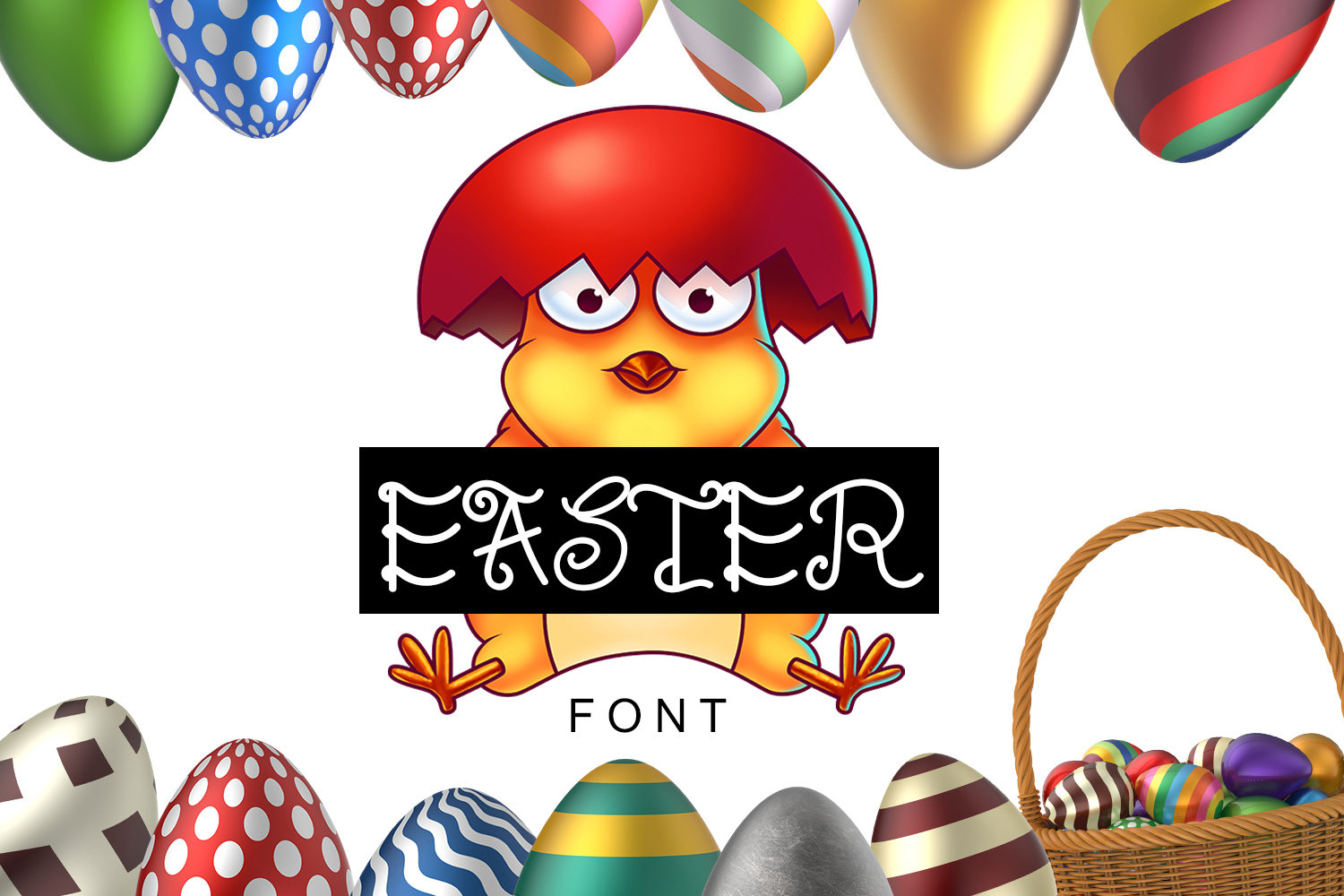 Happy Easter Font example image 1