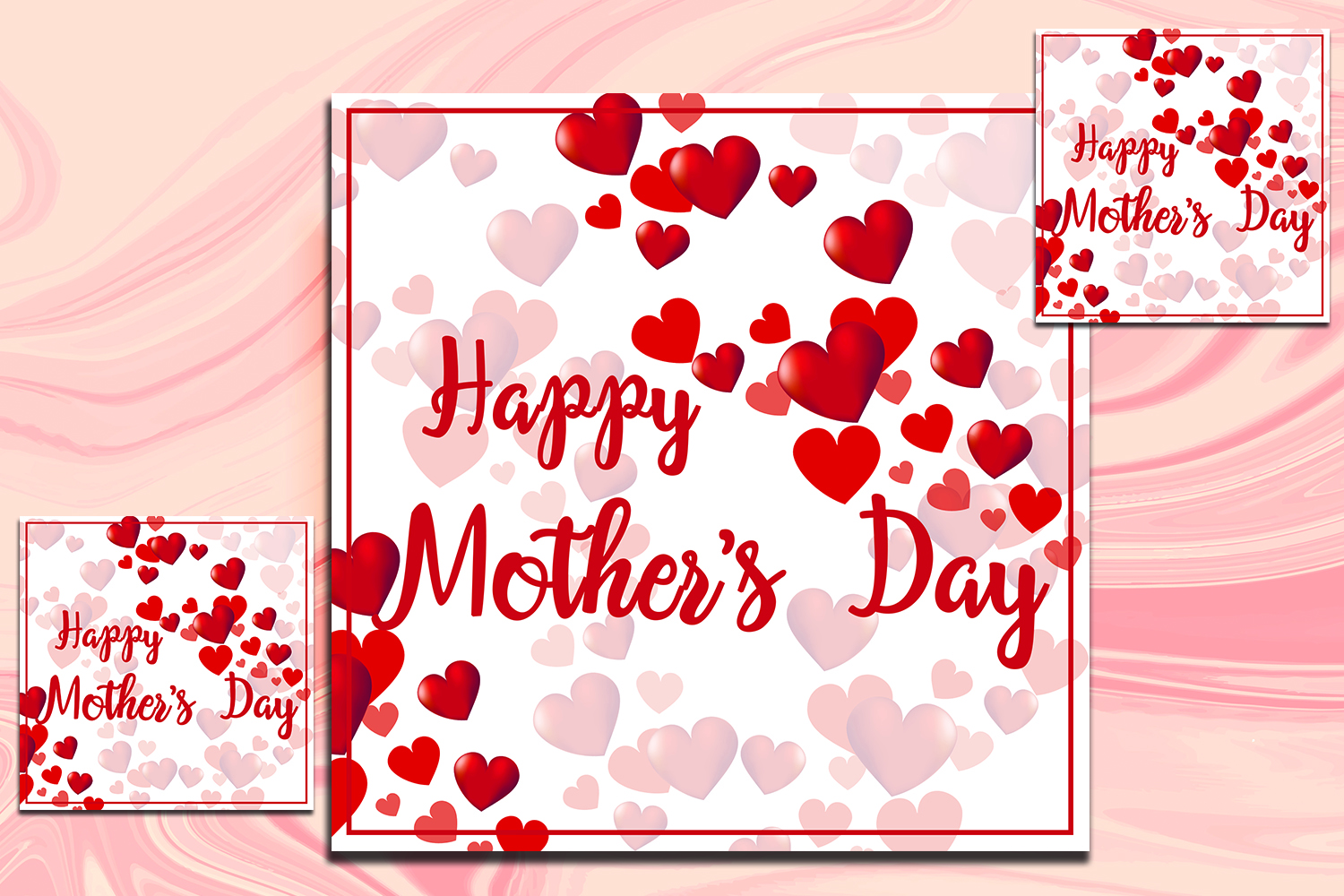 Mother,s day Greeting card example image 1