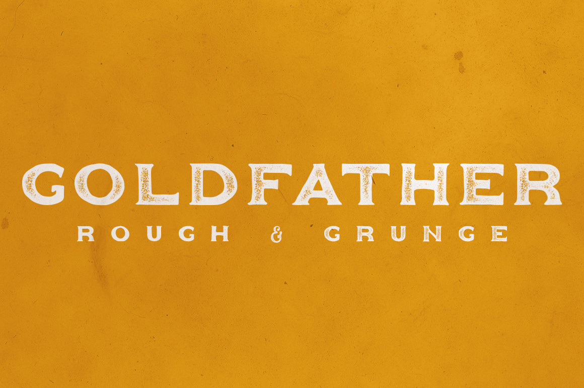 Goldfather Typeface example image 5
