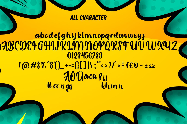 Laggran   Playful Script Font example image 6